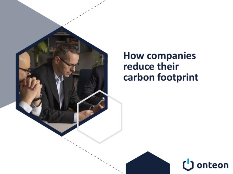 How companies reduce their carbon footprint